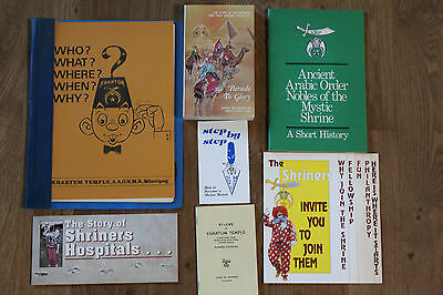 Vintage Khartum Shriners Freemasons Information and Book Canada VGC