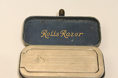 Vintage 1927 Rolls Razor Strop Made in England Hone Sharpener  VG