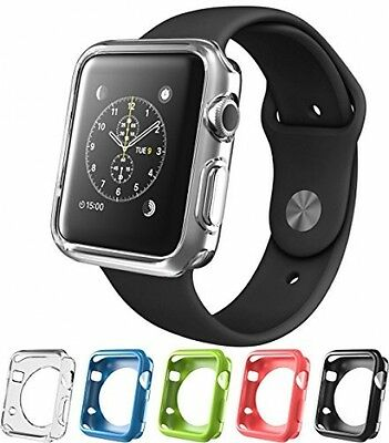 Apple Watch 2 Case, I-Blason TPU Cases [5 Color Combination Pack] For Apple 2