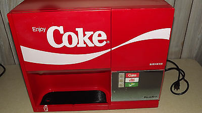 Vintage COCA COLA BREAKMATE Soda Dispenser RARE  Collectible  See Photos Siemens