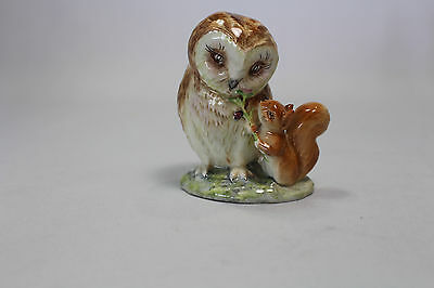 Beswick Beatrix Potter Old Mr Brown BP2a GOLD 1963-1999