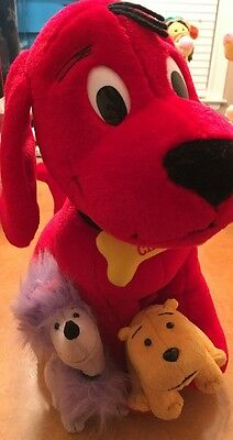 Clifford The Big Red Dog Puppy Days Plush Scholastic Cleo Mac 2002