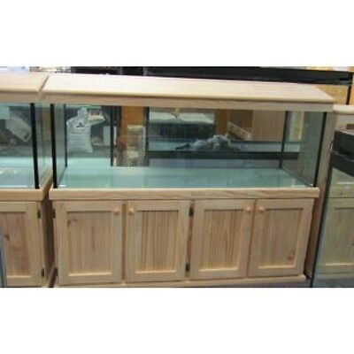 6'x2'x2' Glass Aquarium Fish Tank, Cabinet and Hood