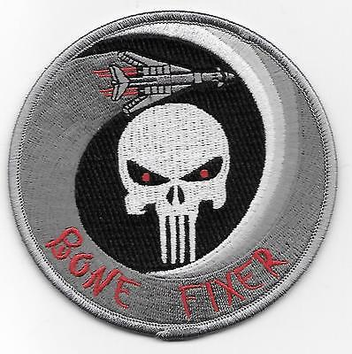 "USAF PATCH - 9th Bomb Squadron / B-1B Bomber Maintenance patch / ""Bone Fixer"""