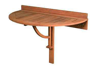 NEW IN box 110cm folding Outdoor wooden balcony table (table only), brand NEW
