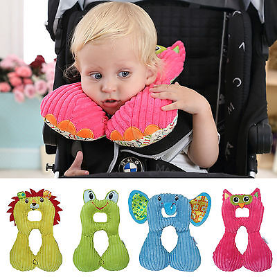 Cartoon Animal Shape Baby Infant Car Seat Pillow Headrest Toddlers Soft Head Neck Support For Travel