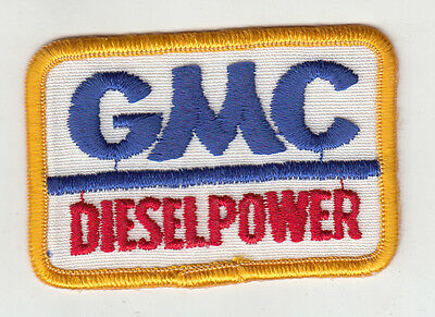 Gmc Diesel Power Embroidered Patch