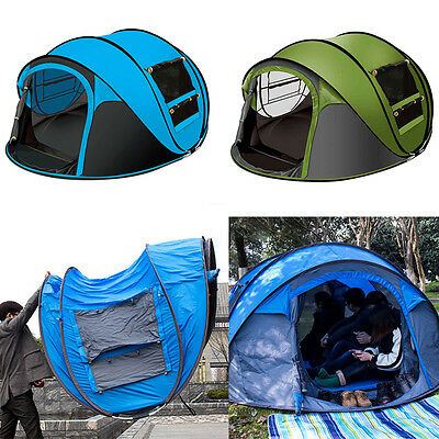 3-4 Person Camping Tent Waterproof Outdoor Hiking Tents Sports Climping Picnic