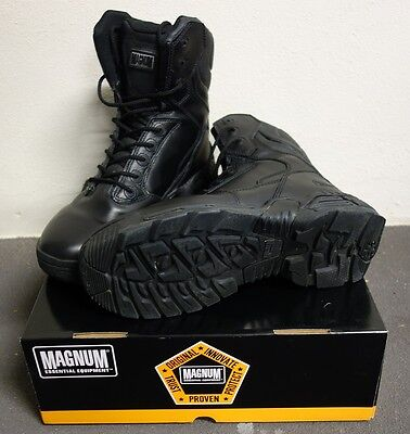 Magnum Stealth Force 8.0 Tactical Work Boots - Black (Size 8.5)