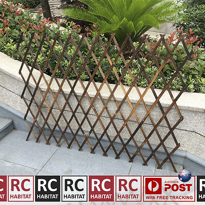 550mm Lightweight Garden Climbing Plant Expandable Lattice Screen Wooden Trellis