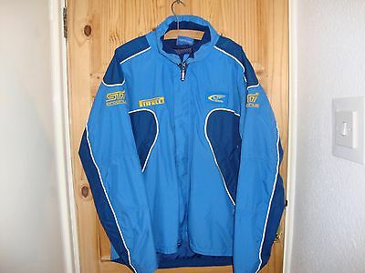 Subaru Blue And Yellow Mens Jacket