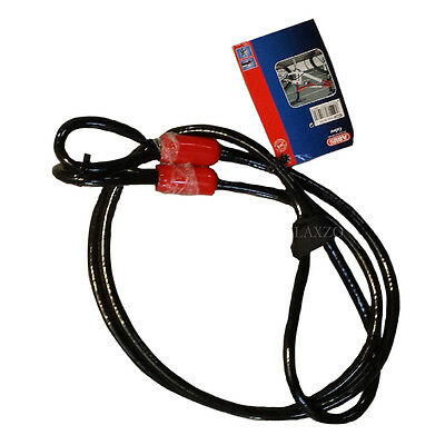 Abus Cobra Bicycle Bike Cycle Lock Extension Security Cable Green 5mm / 10mm