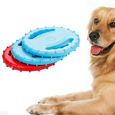 Pet Dog Frisbee Flying Disc Tooth Resistant Outdoor Large Dog Training Fetch Toy
