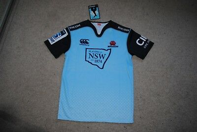 Brand new Waratahs New South Wales Rugby Union HOME jerseys with tags