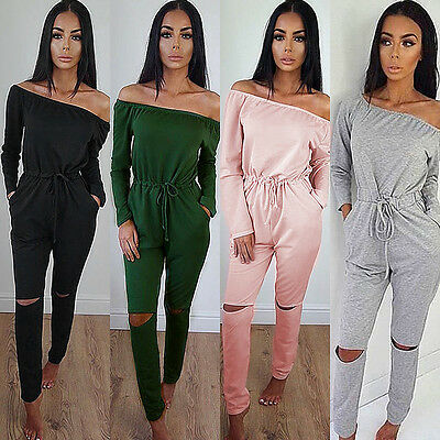 Women Clubwear Summer Playsuit Bodycon Party Jumpsuit Romper Trousers 2017