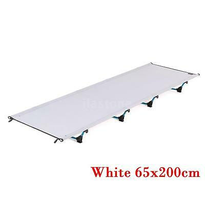 Portable Outdoor Folding Cot Ultralight Hiking Travel Camping Sleeping Bed G8B6