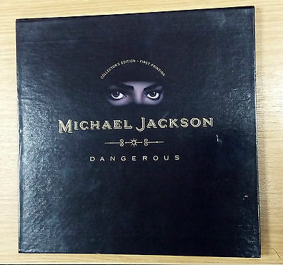 Michael Jackson - Dangerous - Collectors Edition First Printing