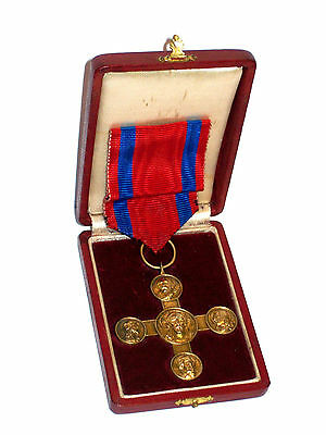 Vatican Pope Medal Order SILVER Lateran Cross BOXED