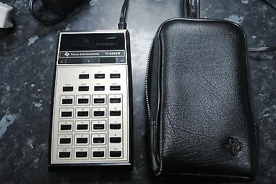 Vintage 1970s Texas instruments TI-2550II LED Calculator