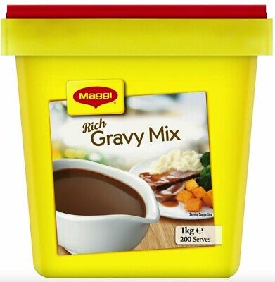 Maggi Rich Gravy mix 1kg Containers Pack New