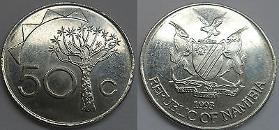 Namibien 50 Cents 1993