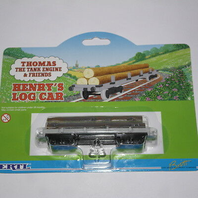 Thomas The Tank  Engine Henry's Log Car Ertl Bnib