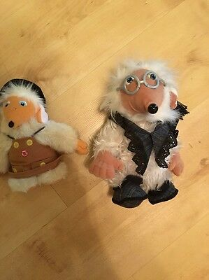 Wombles Soft Toy Bundle Tobermory And Uncle Bulgaria (box 4)