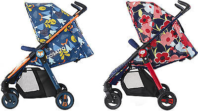 Cosatto FLY TRAVEL SYSTEM & Footmuff & Raincover 0m+ Pixelate/Fox Tale BN