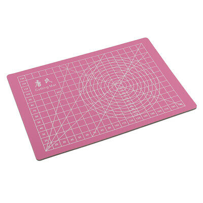 22x15cm Self Healing Rotary Cutting Mat for Quilting Sewing Scrapbook Pink