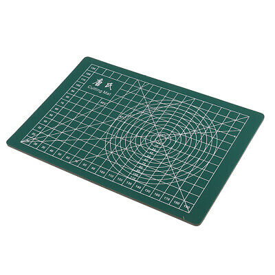 22x15cm Self Healing Rotary Cutting Mat for Quilting Sewing Scrapbook Green
