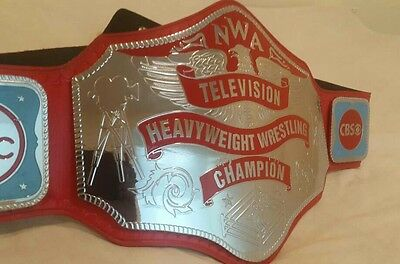 Nwa Television Heavyweight Championship Replica Belt In 4Mm Thick Brass Plates!!