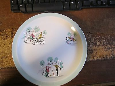 "Alfred Meakin Glo-White Gay Nineties 6 x 9"" Plates"
