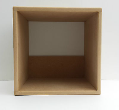 """Pair Of 12"""" Vinyl Record Storage Cube ( 2 Cube Special Offer)"""