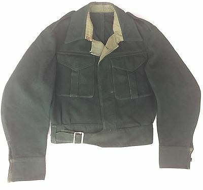 Original 1940s Men's Battledress Blouse Jacket  CC41 Era 1930s Chore Workwear