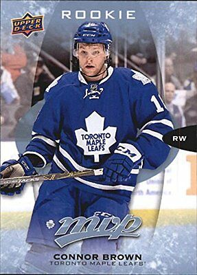 Upper Deck MVP- NHL 2016-17 #294 ROOKIE Connor Brown - Toronto Maple Leafs