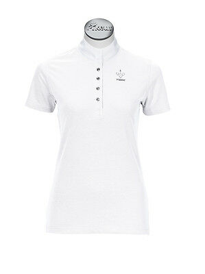 Pikeur Competition Stock Shirt 1/2 Sleeve White (416) - BNWT G38 UK10
