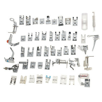 52 Domestic Sewing Machine Foot Replacement Presser Feet Set AllPurpose Tool Kit