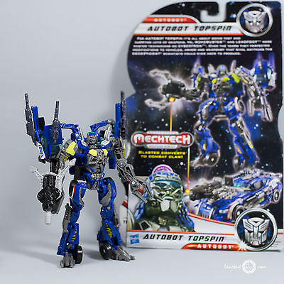 Transformers Topspin --- Dark of the moon -dotm - Autobot wrecker