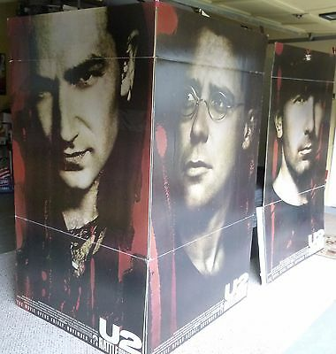 U2 Rattle & Hum Very rare ORIGINAL theater floor display. A Collector's dream!