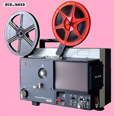 ELMO SC-18M Super 8mm Sound Movie / Film Projector (Refurbished)
