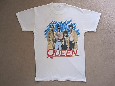 Queen  :  Vintage 'a Kind Of Magic' 1986 Tour Concert T-Shirt Knebworth Uk
