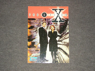 X Files Trading Card Series 1 Promo  P6