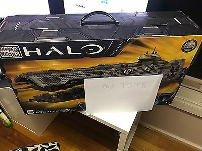 Mega Bloks Halo 97117 Brand New Sealed Forward Unto Dawn