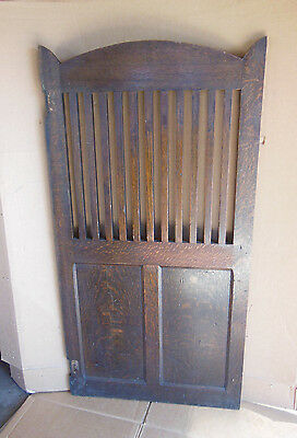 "Antique Arts and Crafts Oak Door Mission Stickley Era 54"" x 28"""