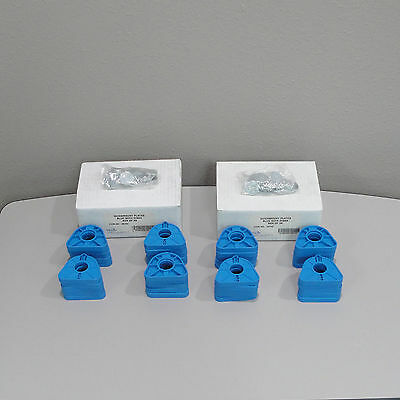 Dental Articulator Quick Mount Magnetic Plates Blue with Disks 2 Box of 20 Each