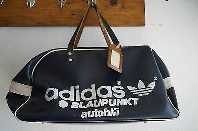 Vintage Adidas Yugoslavia Bag Tasche leather Leder