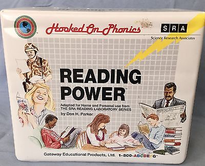 SALE * 50 % OFF ***.  HOOKED ON PHONICS SRA READING POWER Program Cassetts Set