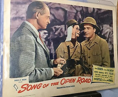 1944 Song Of The Open Road * W. C. Fields, Bergen, Charlie Mccarthy Lobby Card