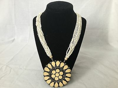 Vintage Large Necklace * Very Pretty