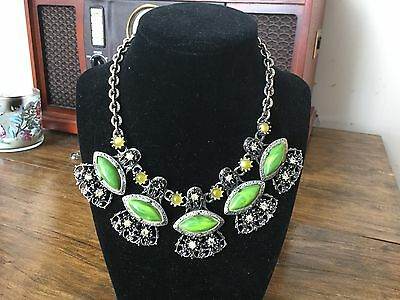 Sale * Vintage Gorgeous Choker  Necklace & Matching Bracelet